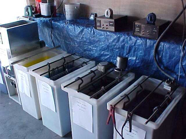 New plating tanks, plating rectifier, and plating equipment