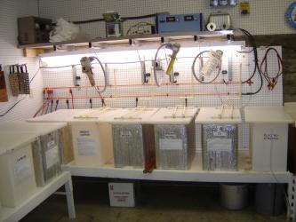 A Pro Studio 30 gallon electroplating system for plating zinc, cadmium, copper, super hard nickel, bright nickel, and chrome electroplating